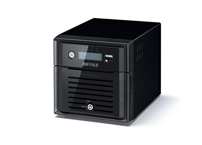 Buffalo TeraStation 5200 NVR 2TB Storage server Ethernet LAN Black