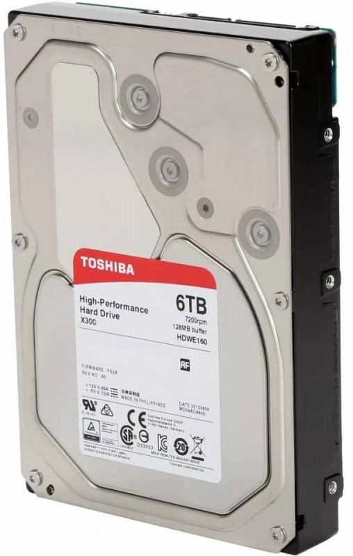 X300 HIGH-PERF HARD DRIVE 6TB SATA
