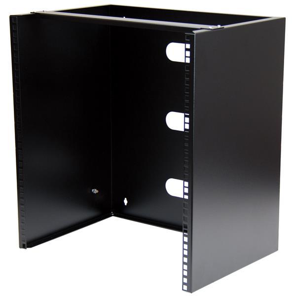 """StarTech.com Wand monteerbaar rack voor 12""""/30 cm apparatuur wandkast massief staal 12U"""