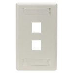 Black Box WP462 wall plate/switch cover White