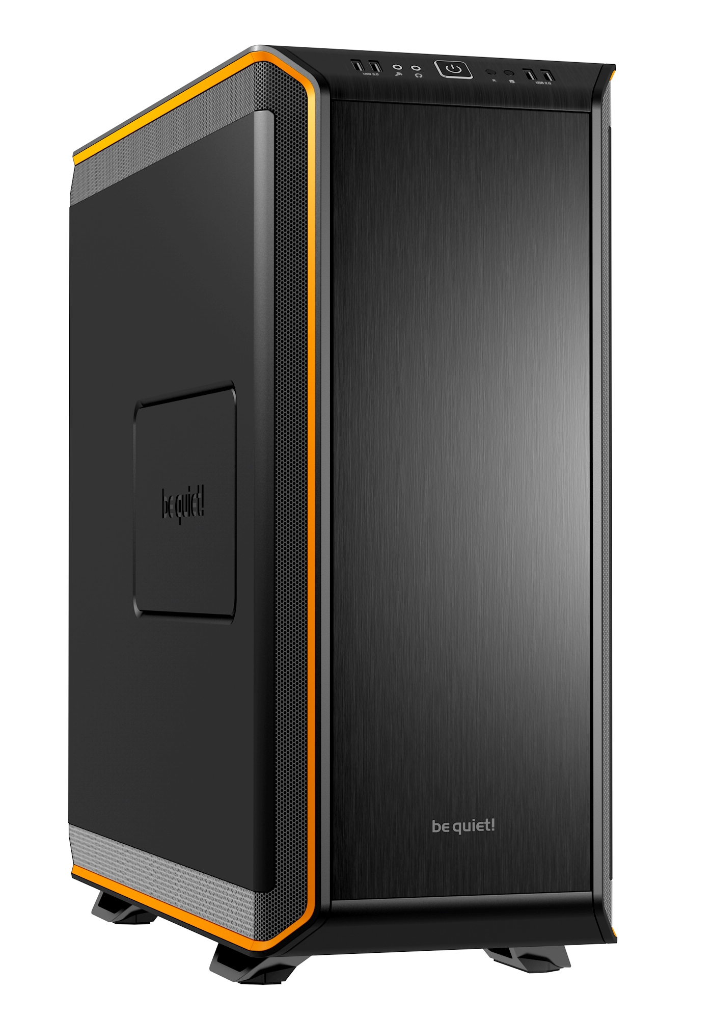 be quiet! Dark Base 900 Midi ATX Tower Black,Orange