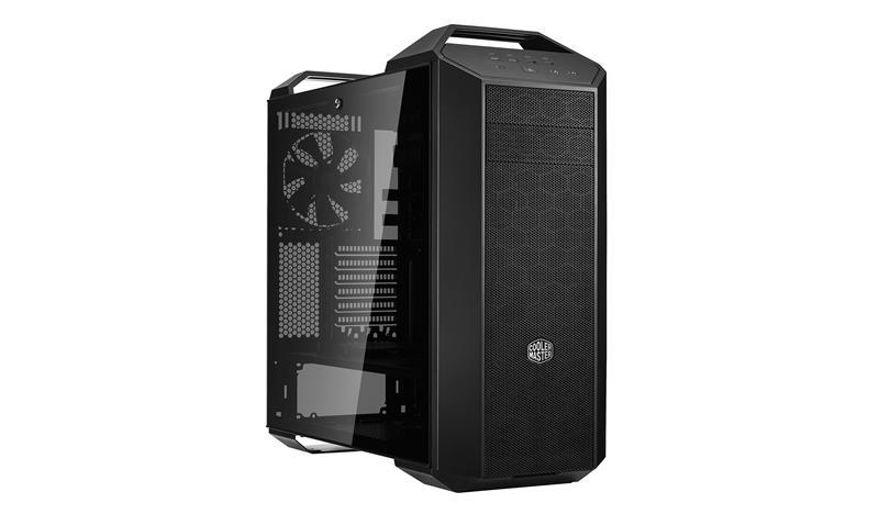 Cooler Master MasterCase MC500 Midi-Tower Black, Metallic computer case
