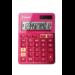 Canon LS-123k calculadora Escritorio Calculadora básica Rosa