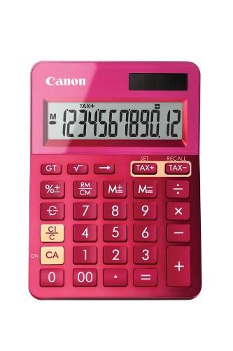 Canon LS-123k calculator Desktop Basic Pink