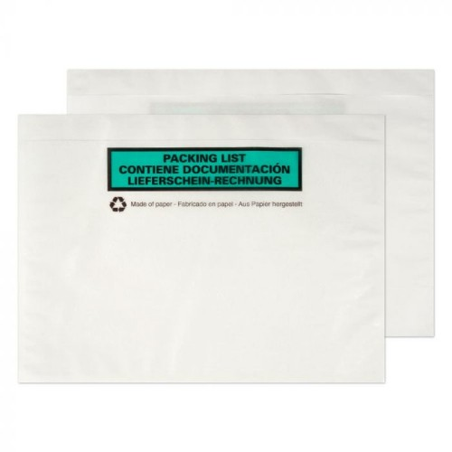 Blake C5 PAPER DOCUMENTS ENCLOSED WALLET envelope C5 (162 x 229 mm) White