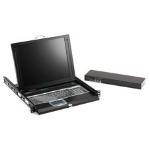 "Black Box ServTray rack console 17"" 1024 x 768 pixels 1U"