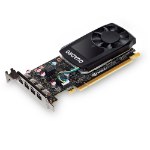 PNY VCQP600-PB Quadro P600 2GB GDDR5 graphics card