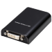 2-Power HUB0102A Black USB graphics adapter