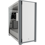 Corsair 5000D Tempered Glass Midi Tower White