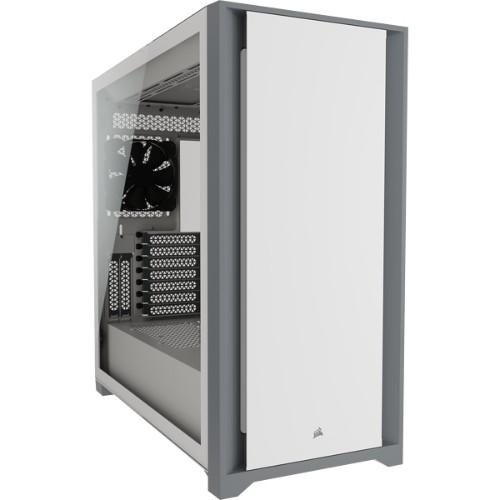 Corsair 5000D Tempered Glass Midi Tower White