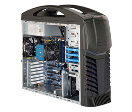 SuperChassis 732G-000B Gaming Chassis - E-ATX  - 3x 3.5in