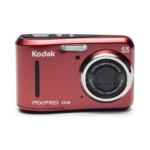 "Kodak FZ43-RD Compact camera 16.15MP 1/2.3"" CCD 4608 x 3456pixels Red compact camera"