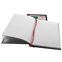 Black n' Red Book Casebound Recycled 90gsm 192pp A5 Ref 100080430 [Pack 5]