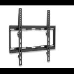 """Manhattan Monitor/TV Wall Mount (fixed), 1 screen, 32-55"""", Vesa 200x200 to 400x400mm, Max 40kg, Black, Box"""