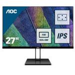 AOC Value-line 27V2Q PC Flachbildschirm 68,6 cm (27 Zoll) 1920 x 1080 Pixel Full HD LED Schwarz