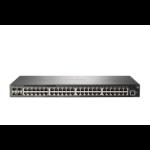 Hewlett Packard Enterprise Aruba 2930F 48G 4SFP+ Managed L3 Gigabit Ethernet (10/100/1000) 1U Gray