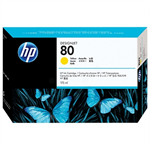 HP C4873A (80) Ink cartridge yellow, 175ml