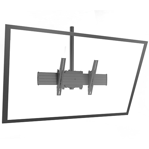 Chief XCM1U Black flat panel ceiling mount