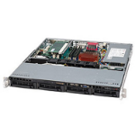 Supermicro CSE-813MTQ-350CB computer case Black 350 W