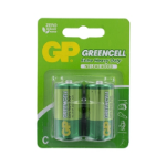 GP Batteries GP Greencell Zinc Pack of 2 C Batteries