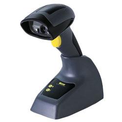 Wasp WWS650 Handheld bar code reader 1D/2D LED Black,Grey,Yellow