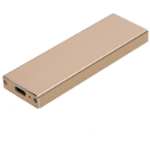 CoreParts MSUB3120-80 storage drive enclosure M.2 SSD enclosure Gold