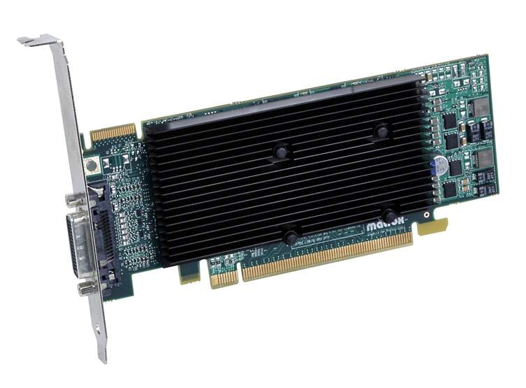 Matrox M9120-E512LPUF GDDR2 graphics card