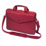 "Dicota Code Slim Case 15"" notebook case 38.1 cm (15"") Briefcase Red"
