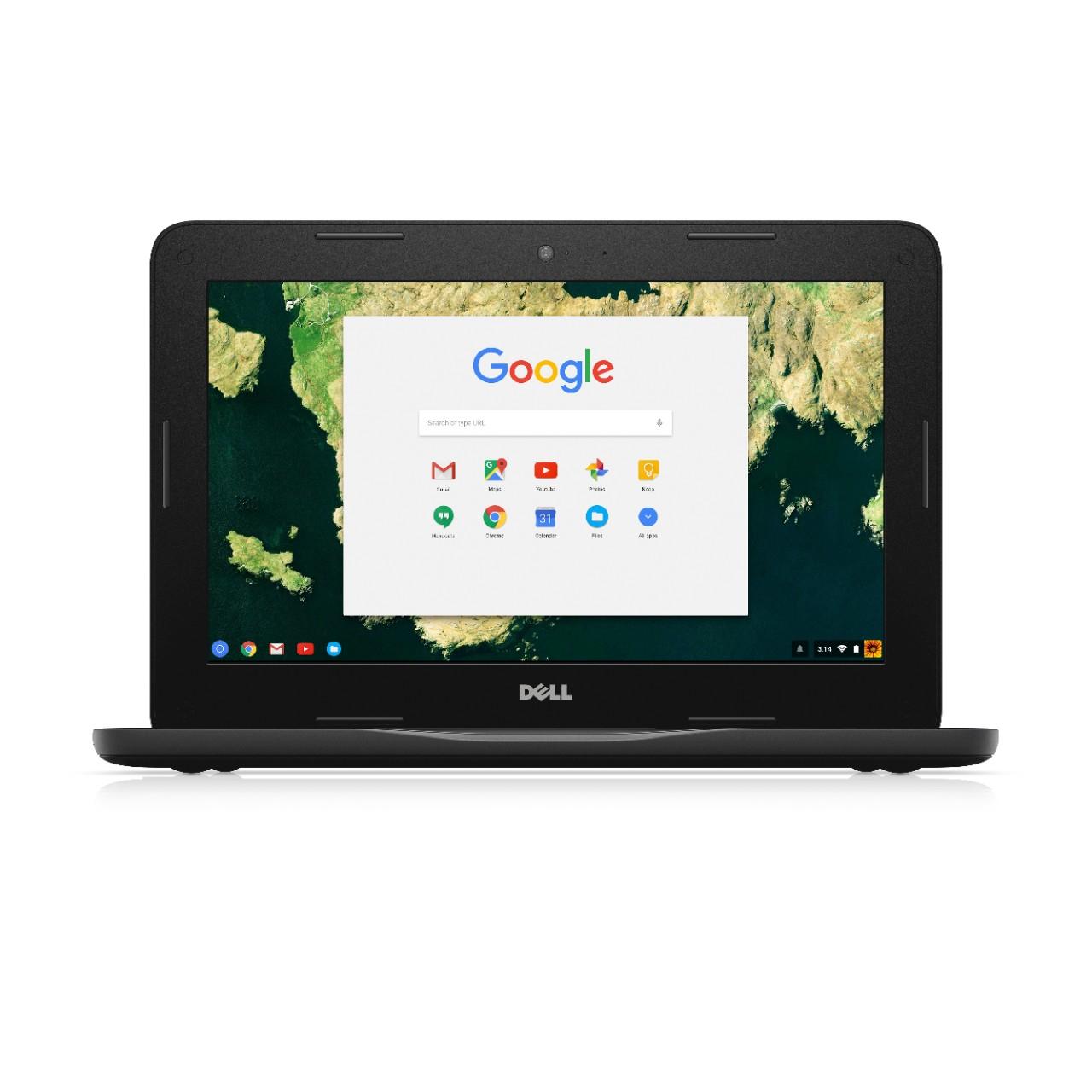 "DELL Chromebook 3180 Zwart 29,5 cm (11.6"") 1366 x 768 Pixels 1,6 GHz Intel® Celeron® N3060"