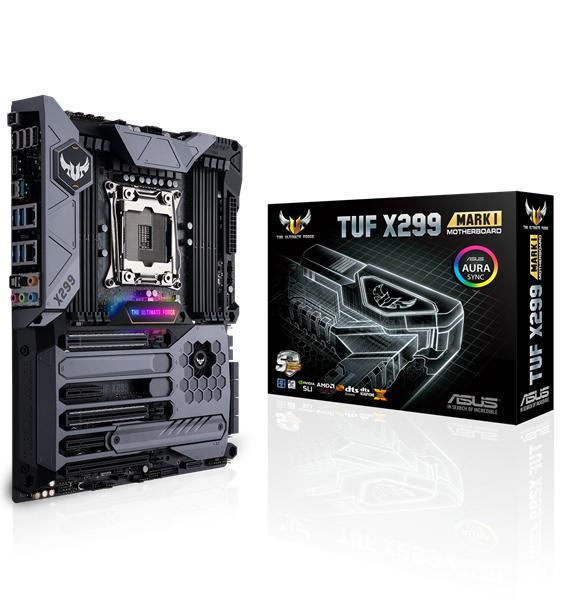 ASUS TUF X299 MARK 1 Intel X299 LGA 2066 ATX motherboard