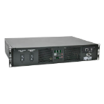 Tripp Lite PDUMH32HVATNET 7.7kW Single-Phase Switched Automatic Transfer Switch PDU, Two 200-240V IEC309 32A Blue Inputs, 16-C13 2-C19 Outlets, 2U, TAA
