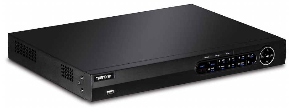 TRENDnet 8-Channel HD Network Video Recorder 2 SATA II Bays 1080p 2 Year Warranty Free iOS /& Android App Rack Mountable IPv6 ONVIF Up to 12 TB Storage Advanced Video Playback TV-NVR2208