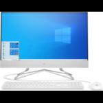 "HP Pavilion 24-df0030 23.8"" 1920 x 1080 pixels Touchscreen AMD Athlon Silver 4 GB DDR4-SDRAM 256 GB SSD All-in-One PC Windows 10 Home Wi-Fi 5 (802.11ac) White"