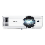 Acer S1386WH Beamer/Projektor 3600 ANSI Lumen DLP WXGA (1280x800) Ceiling-mounted projector Weiß