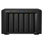 Synology DX513 40000GB Desktop Black disk array