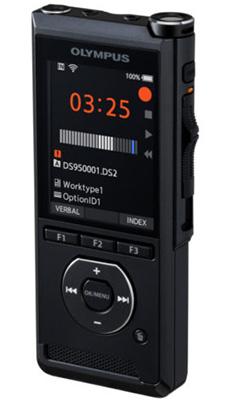 Olympus DS-9500 dictaphone Flash card Black