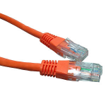 Cables Direct 3m Cat6 networking cable Orange
