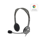 Logitech H111 Stereo Headset Head-band 3.5 mm connector Grey