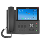 Fanvil X7A IP phone Black Wired handset LCD 20 lines Wi-Fi