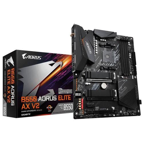 Gigabyte B550 AORUS ELITE AX V2 motherboard AMD B550 Socket AM4 ATX
