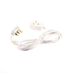SMJ B1W3MP Indoor 1AC outlet(s) 3m White power extensionZZZZZ], B1W3MP