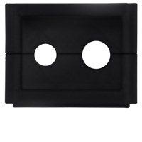 AMX HPX-CPT200-W Black outlet box