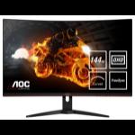 """AOC G1 CQ32G1 LED display 81.3 cm (32"""") 2560 x 1440 pixels Quad HD LCD Black"""