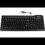 Seal Shield SSKSV208ES USB QWERTY Spanish Black keyboard