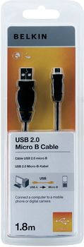 Belkin F3U151CP1.8M USB cable