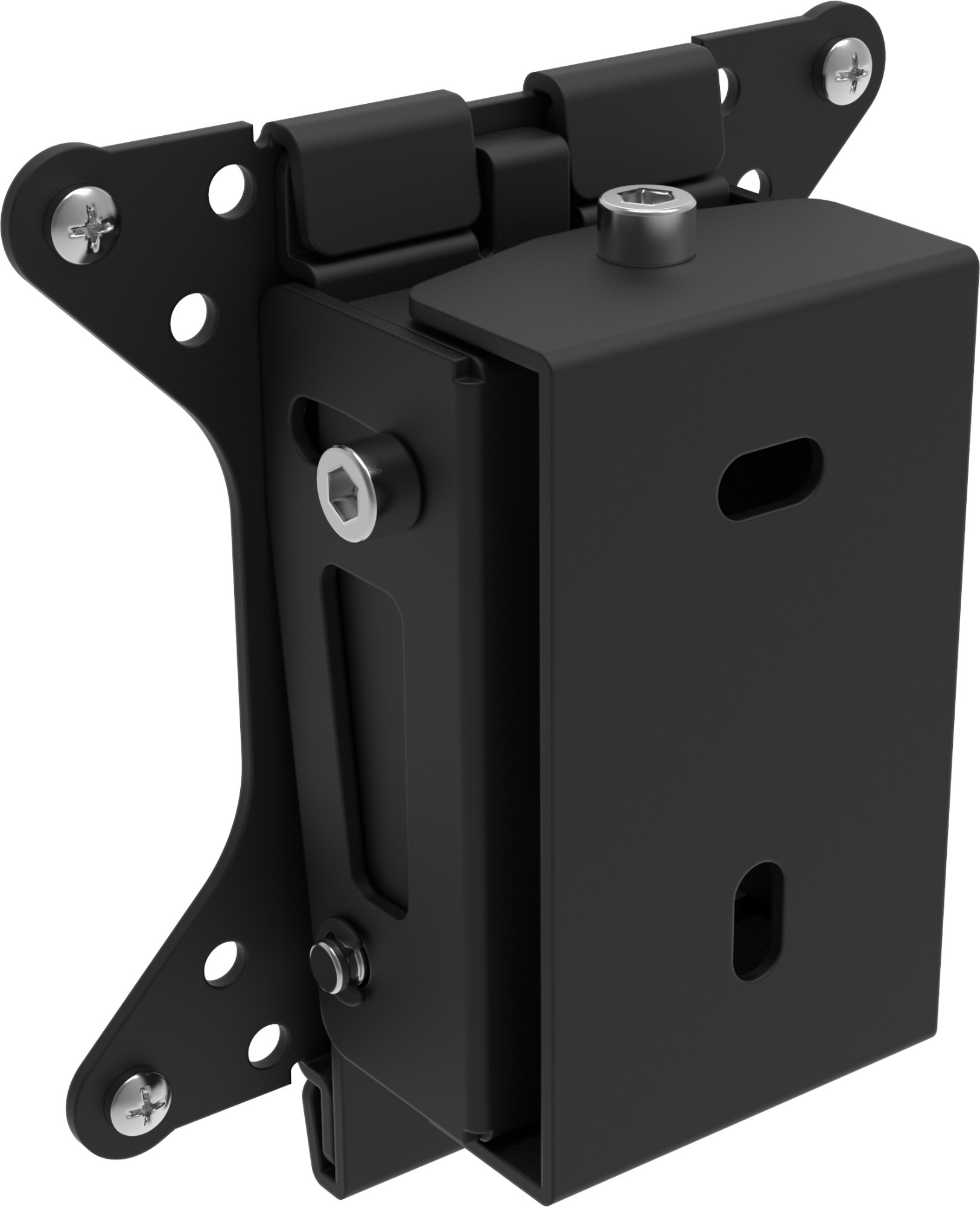 "Vision VFM-W1X1T 30"" Black flat panel wall mount"