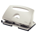 Leitz 51320085 hole punch 40 sheets Gray