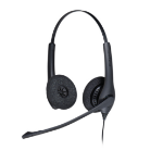 Jabra BIZ 1500 Duo QD Binaural Head-band Black