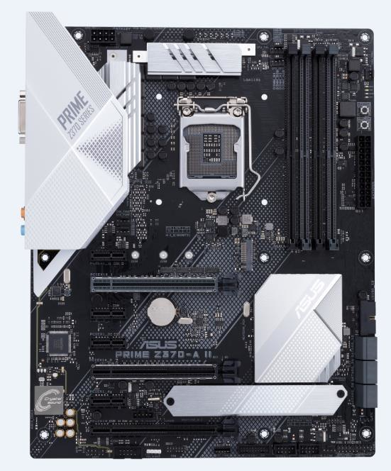 ASUS PRIME Z370-A II motherboard LGA 1151 (Socket H4) ATX Intel® Z370