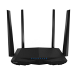 Tenda AC6 wireless router Dual-band (2.4 GHz / 5 GHz) Fast Ethernet Black